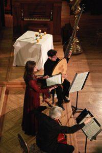 Concert Société allemande de Québec, Michel Angers, Peggy Bélanger, Alfred Marin