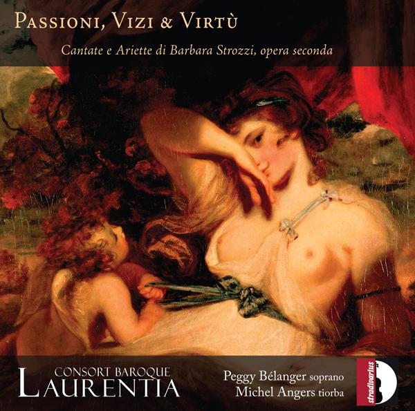 Couverture disque Passioni, Vizi & Virtù, Michel Angers et Peggy Bélanger