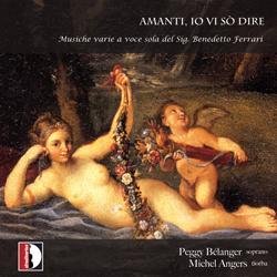 Couverture disque Amanti, io vi sò dire, Laurentia, Michel Angers, Peggy Bélanger,