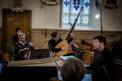 Luc Beauséjour, Michel Angers, Clavecin en concert, Hugo Laporte