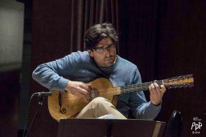Michel Angers baroque guitar